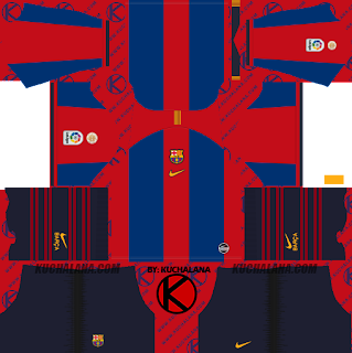Barcelona vs Real Madrid El Clasico Kits 2019 - Dream League Soccer Kits