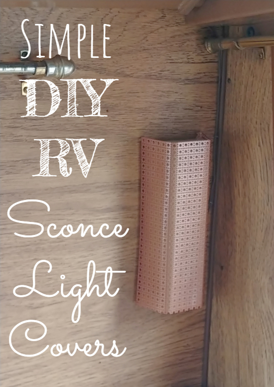 New RV sconce light shades