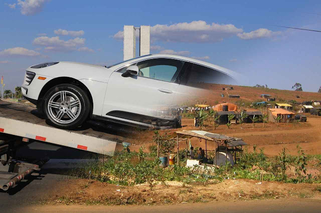 19 mil Sem Terra possuem carros como Porsche