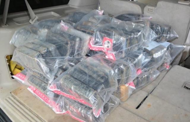 DNCD ocupa 150 paquetes de droga y apresa dos hombres