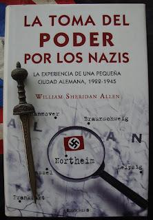 Portada del libro La toma del poder por los nazis, de William Sheridan Allen