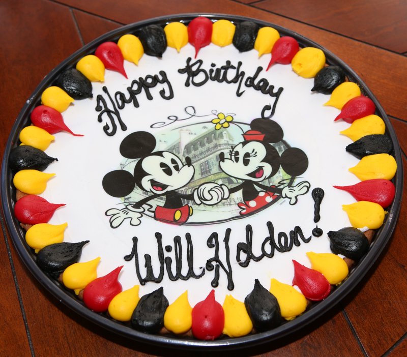 We Had Two Huge Birthday Cakes In March Since Have Birthdays So I Decided It Would Be Fun To A Cookie Cake Called Walmart And Just
