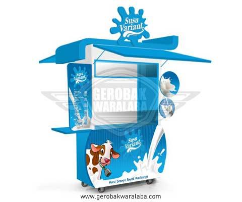 booth susu variant bandung