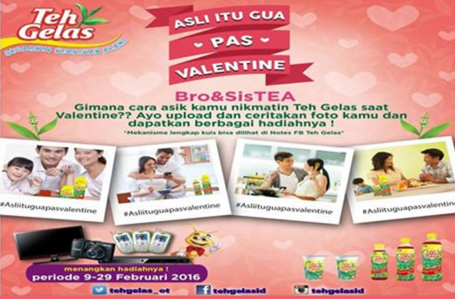 Kontes Asli Itu Gua Pas Valentine Berhadiah Elektronik per Minggu