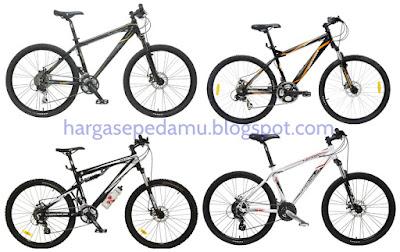 Daftar Harga Sepeda MTB Wimcycle Terbaru dan Terlengkap