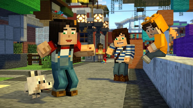 Screenshot Minecraft Story Mode season 2