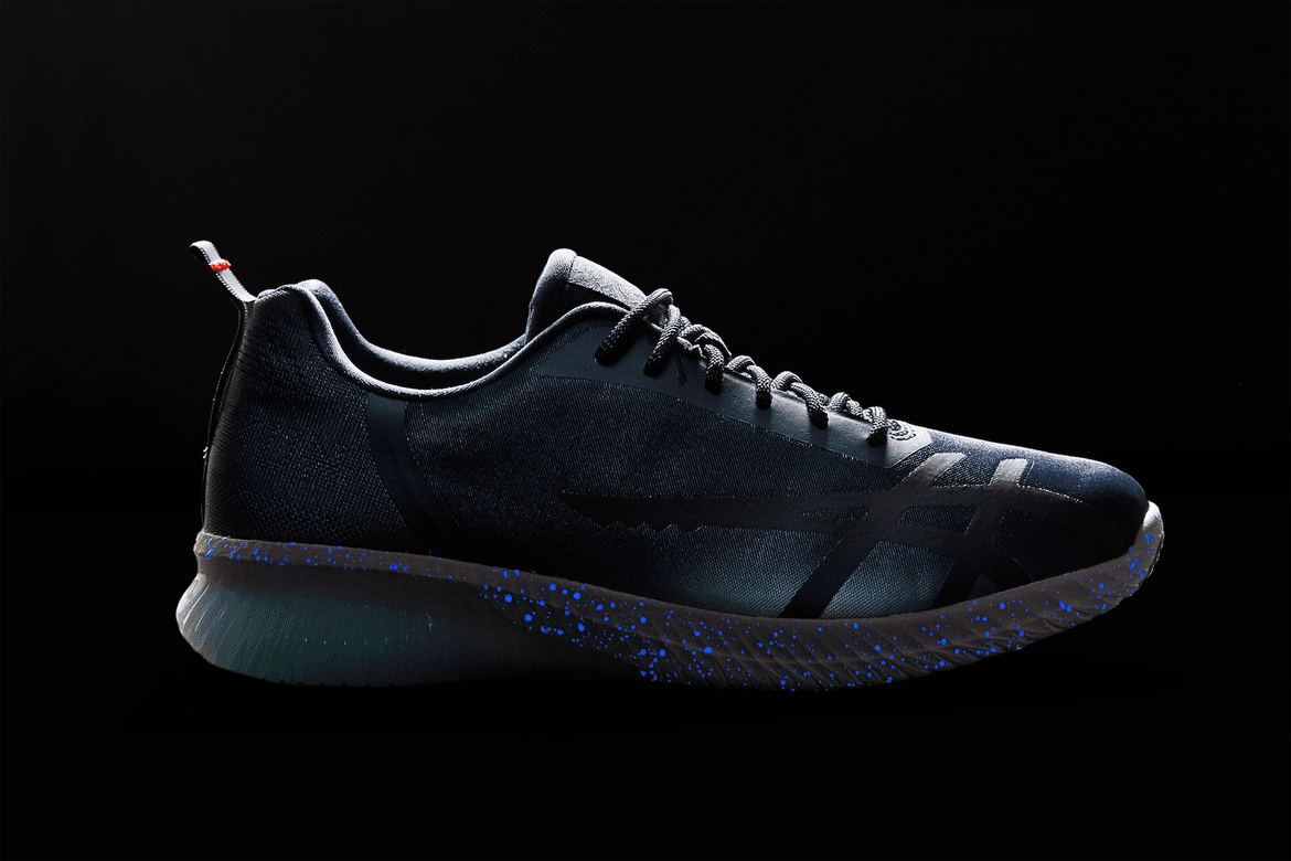 50ee117f1b14 Japan-based mita sneakers and ASICS collaborate once again for the new  Kenun model . The GEL-Kenun Shinkai s unique design draws inspiration from  the ...