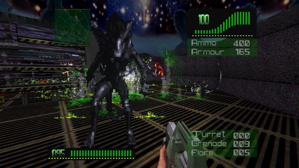 Indie Retro News: Aliens The Ultimate Doom - Alien Trilogy