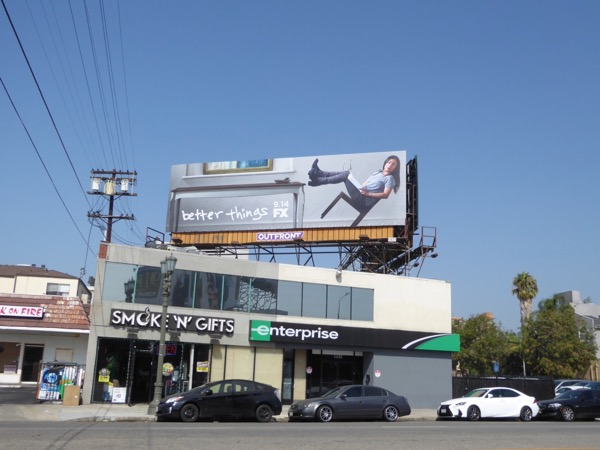 Better Things season 2 billboard