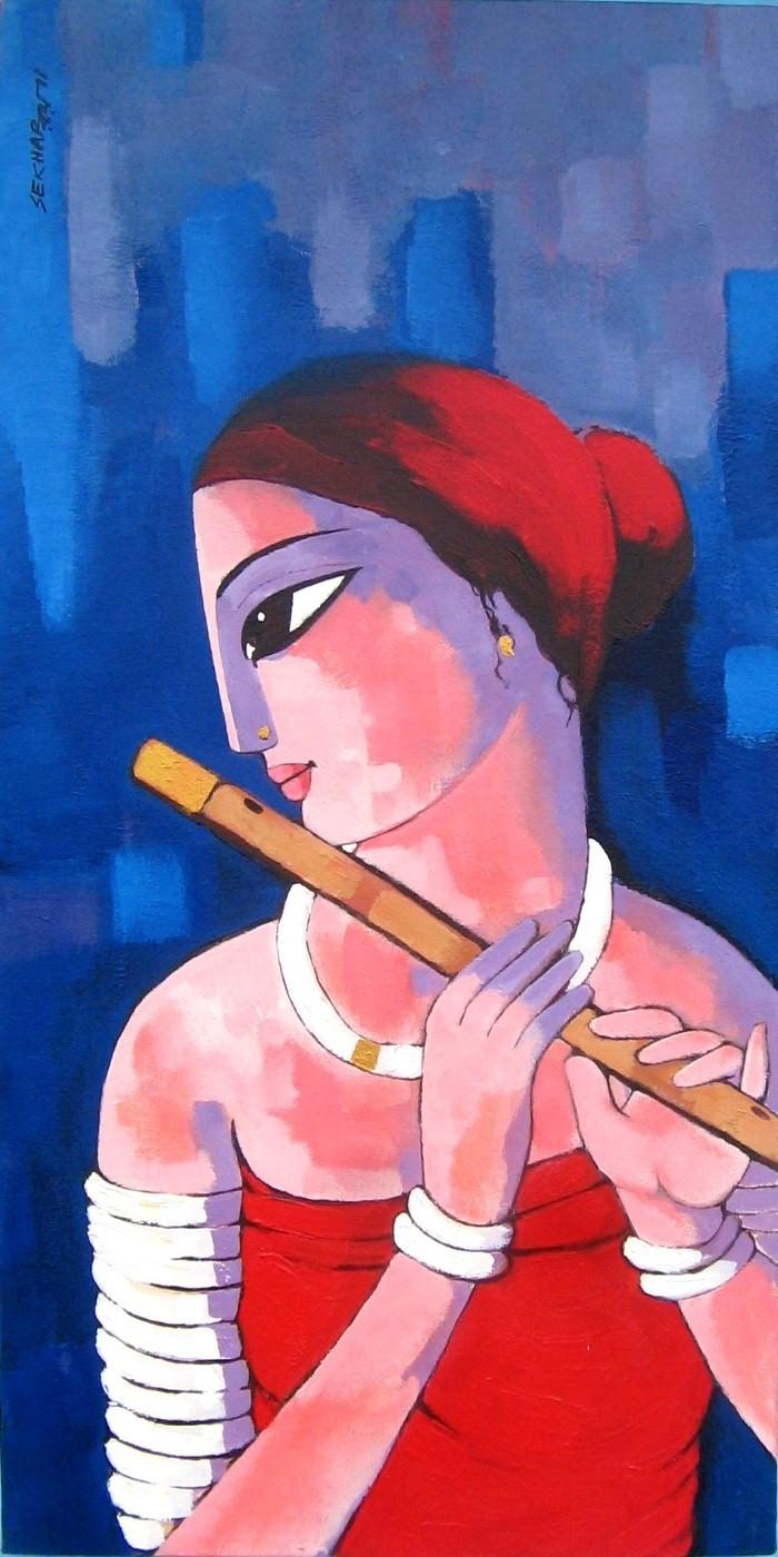 Sekhar Roy. Современный индийский художник 5