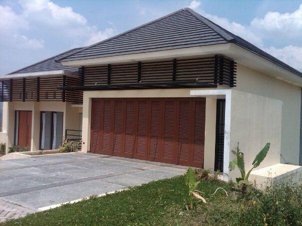 baja ringan untuk garasi mobil pintu besi rumah dan minimalis modern gambar desain