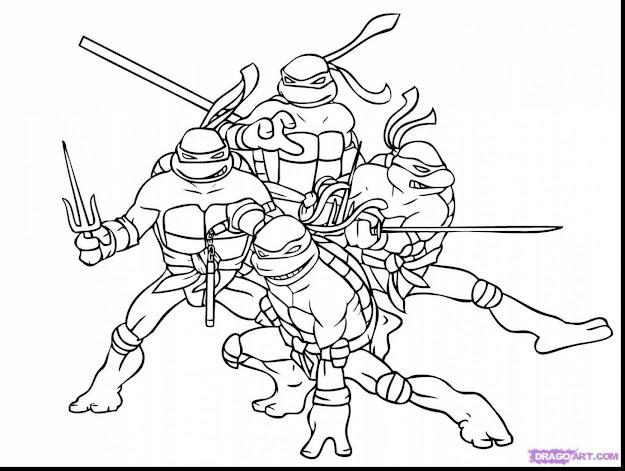Fabulous Teenage Mutant Ninja Turtles Coloring Pages With Teenage Coloring  Pages And Teenage Dora Coloring Pages