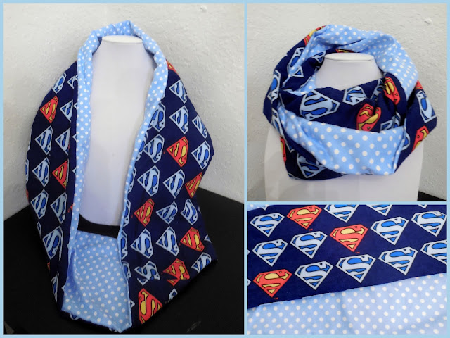 superman infinity scarf