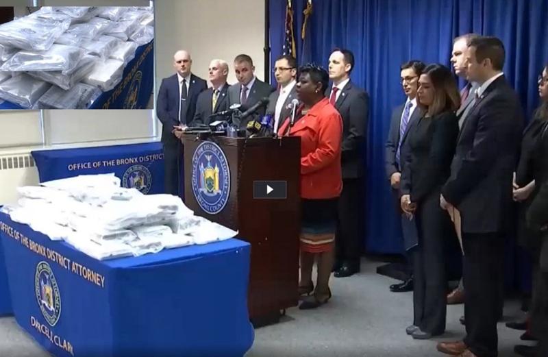 La DEA arresta dominicanos con 80 kilos de cocaína en El Bronx