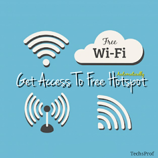 Get Access To Free WiFi Hotspot Automatically