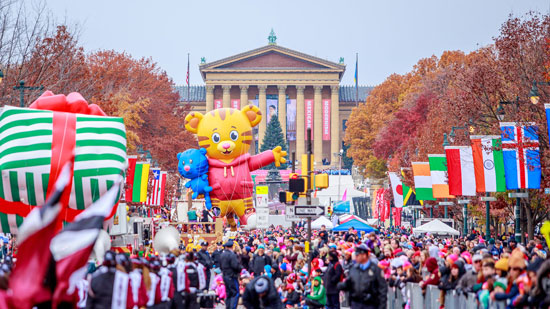 Parade Images of Thanksgivingday 2018