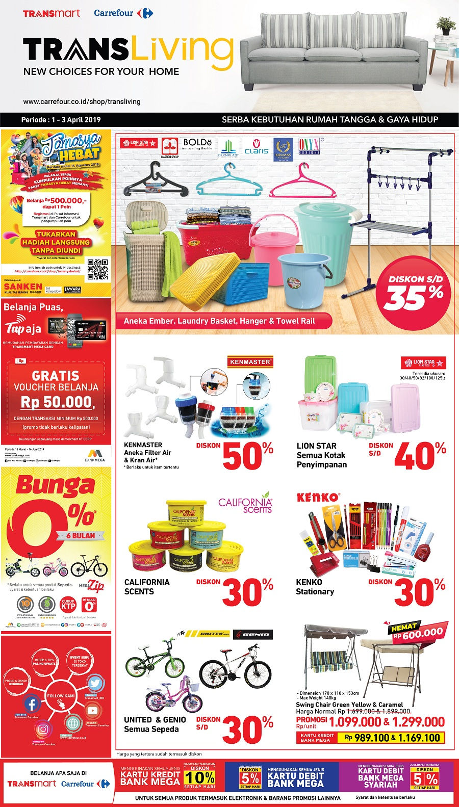 #Transmart #Carrefour - #Promo #Katalog JSM Periode 29 - 31 Maret 2019