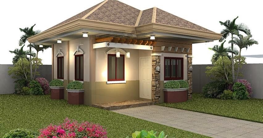 Idea for an affordable 50 sqm to 120sqm small beautiful house for Small house budget philippines