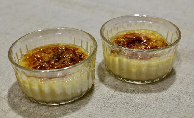 Crema catalana (sin gluten ni lactosa)