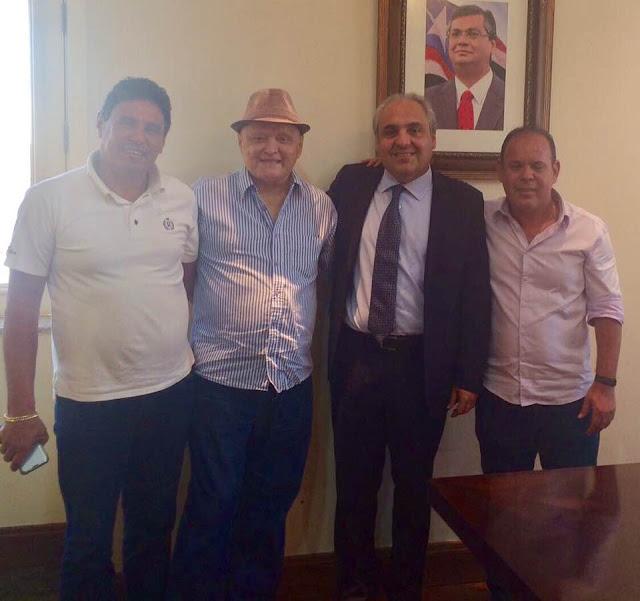 Prefeito Bode visita Deputado Paulo Neto e firma parcerias com Marcelo Tavares, chefe da Casa Civil em São Luis