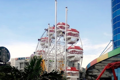 Tiang Bendera pesanan PT Cakra Kelola Lestari di Jakarta Barat Season Mall