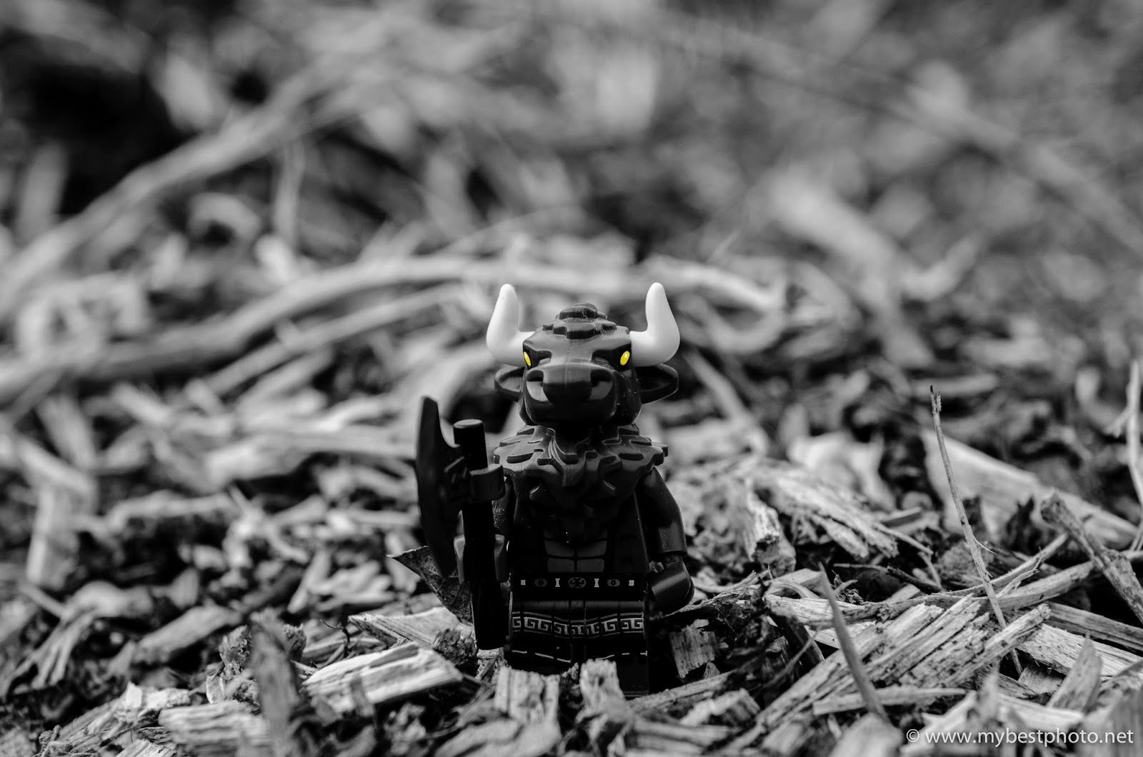 Lego Minifigure Series 6 Minotaur - Wallpaper