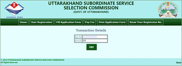 Uttarakhand Forest Guard Recruitment 2018 Fees Submit कैसे करे