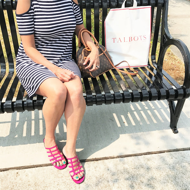 Fashion Friday: End of Summer  Outfit Round Up #outfitguide #coldshoulder #fashionover50