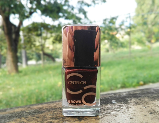Catrice Brown Collection Nail Lacquer 04 Unmistakable Style