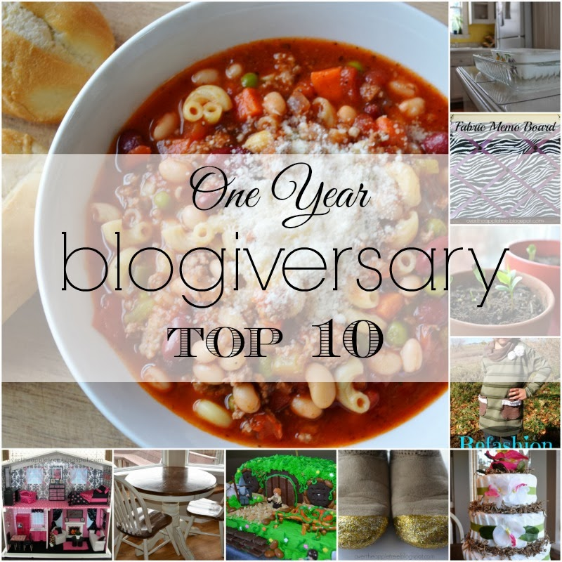 One year blogiversary top 10, Over The Apple Tree