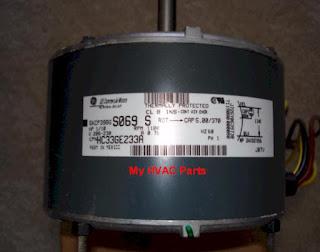 Trane XE 1000 Fan Motor problem