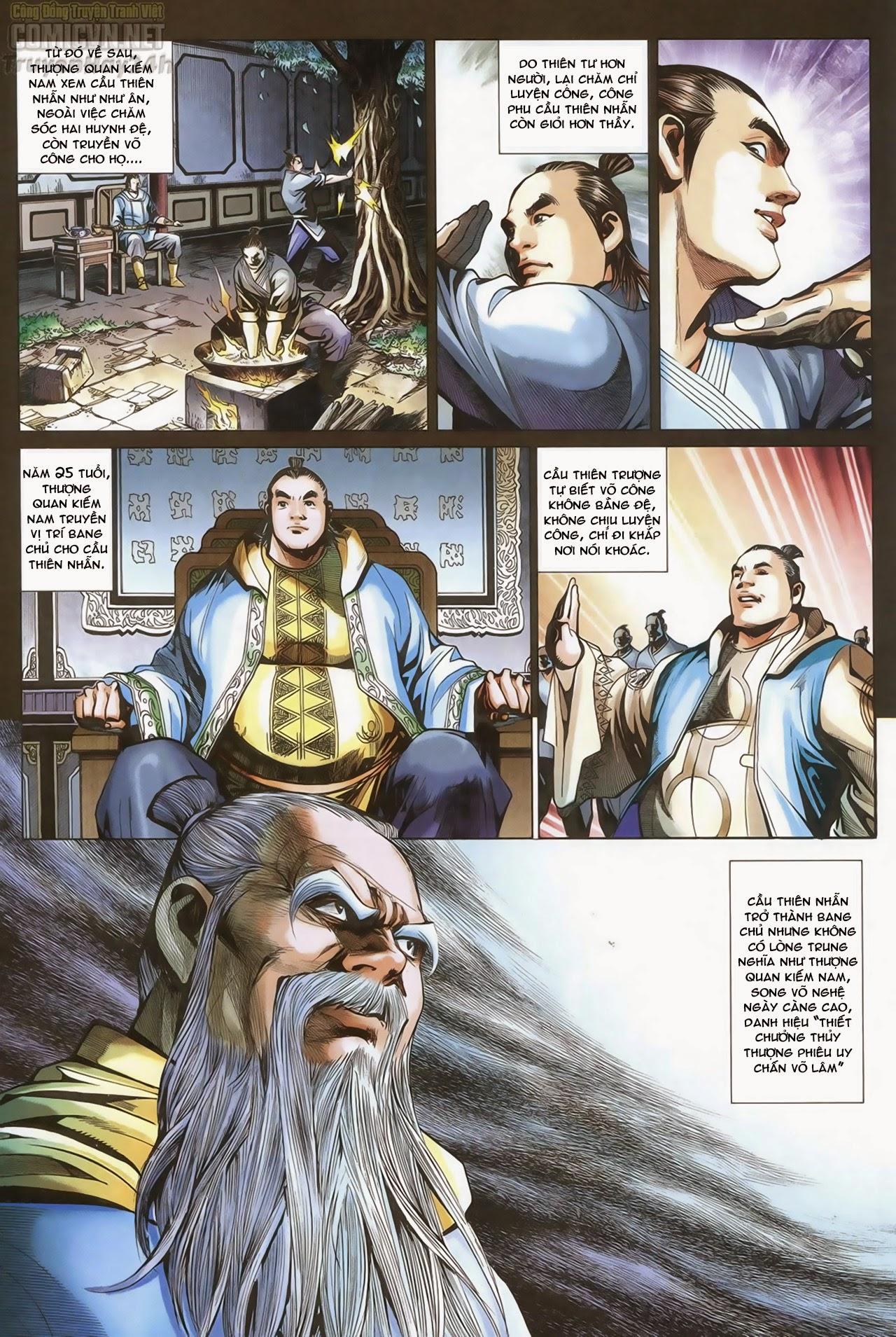 Anh Hùng Xạ Điêu anh hùng xạ đêu chap 69: hồn đoạn thiết chưởng phong trang 19