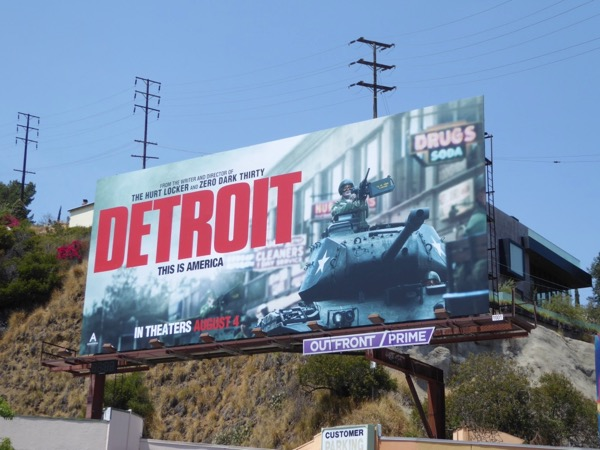 Detroit This is America billboard