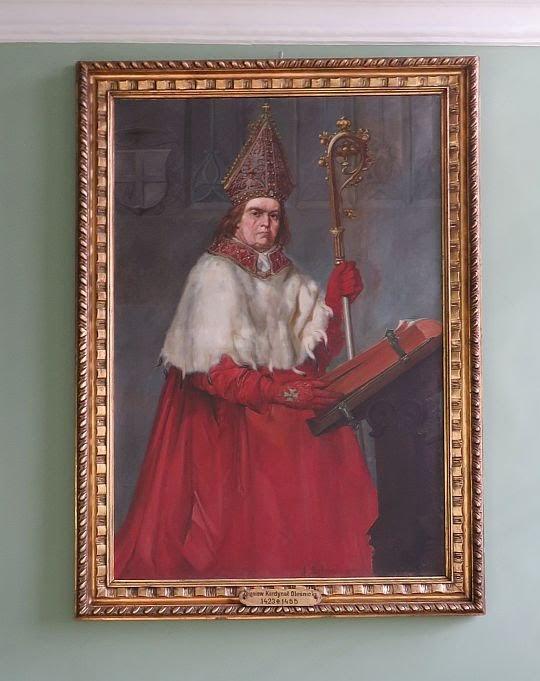 Portret Zbigniewa Oleśnickiego, biskupa krakowskiego w latach 1423-1455.
