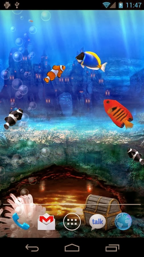 Aquarium Live Wallpaper v3.3 Apk | HYGODROID