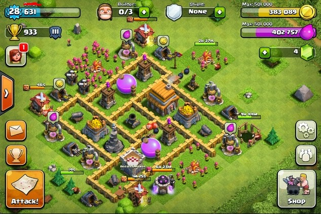 Base Coc Th 5 Terkuat Dan Susah Dibobol 5
