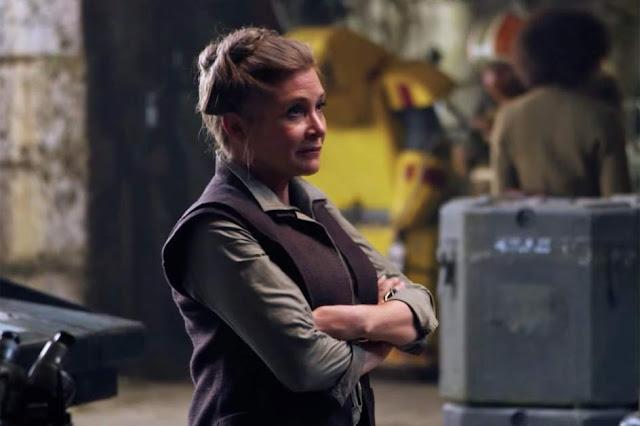 Carrie Fisher - 'El despertar de la fuerza'