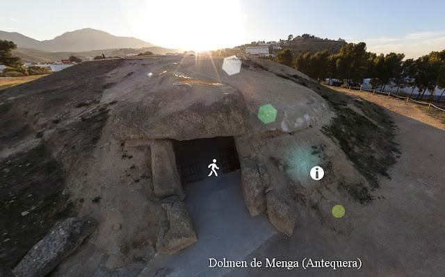 Dolmen de Menga y El Torcal Antequera: panorámica 360 grados