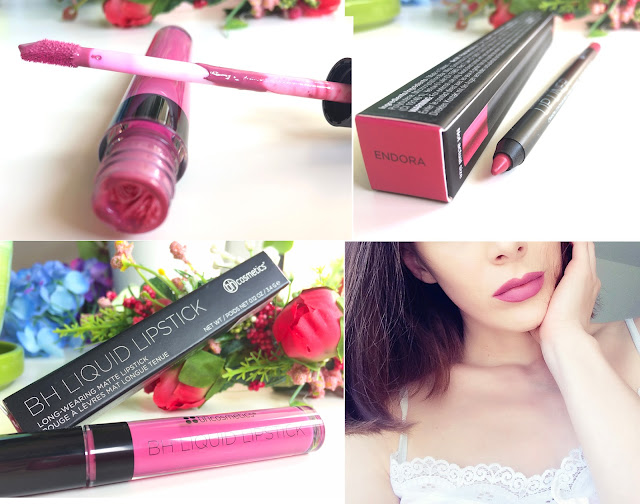 BH Cosmetics Liquid Lipstick Jeannie Review Swatch