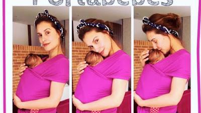La modelo Maria Clara Rodríguez habla sobre porteo, maternidad y lactancia