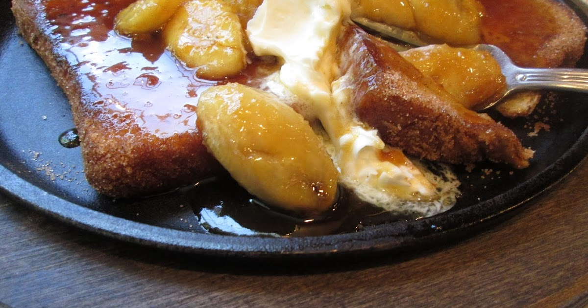 ... the Pot: Cinnamon French Toast with Caramelized Bananas and Mascarpone