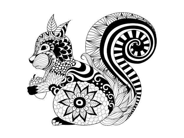 Mandala Cat Coloring Pages With Animal For Adults Free Template Printable  Animal