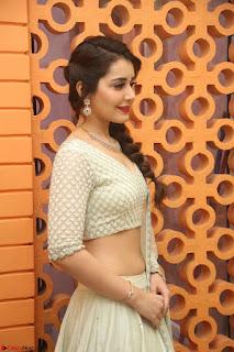 Raashi Khanan looks stunning in Crop Top Deep neck Choli Ghagra Transparent Chunni WOW ~  Exclusive Celebrities Galleries 066.JPG