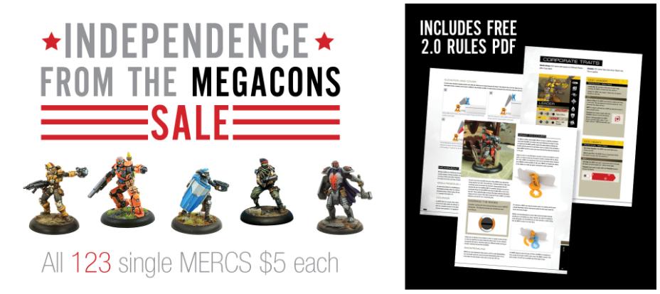 Sync's Wargaming: MERCS 2 0 - Free Rules PDF and MERCS