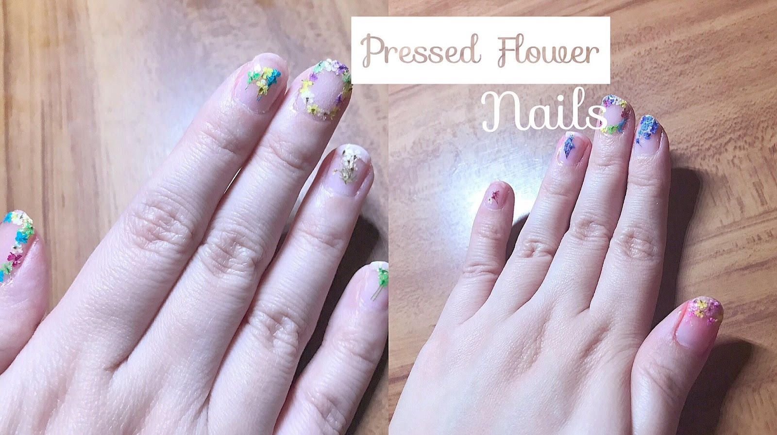 Diy pressed flower nail art its been a while since ive done any diys but hooray for my first diy this 2017 i think lol its actually not 100 diy but it can be if you want prinsesfo Gallery