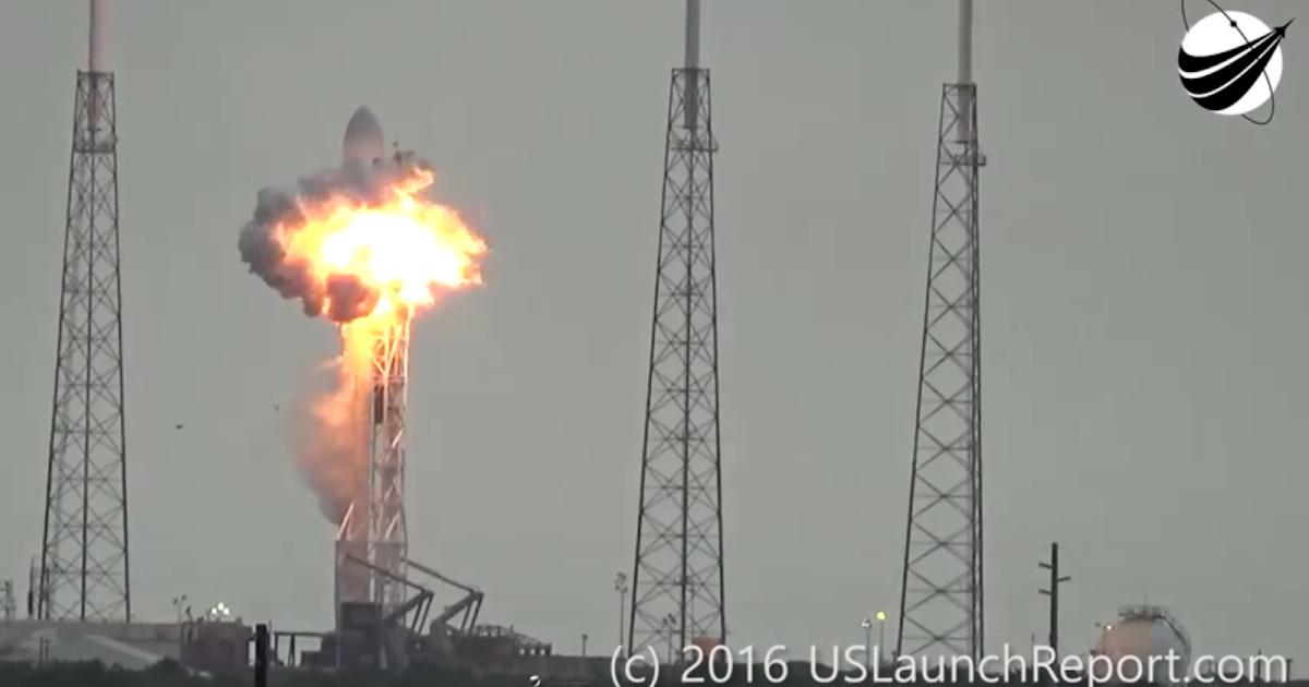 Amos-6, esplode durante test di statico di accensione il razzo vettore Falcon 9 di SpaceX ed il satellite per telecomunicazioni Israeliano, video