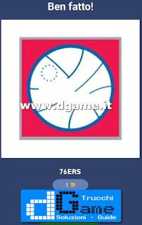 Soluzioni NBA Team Quiz livello 14