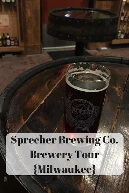 Sprecher Brewing Co. Brewery Tour Milwaukee learning about brewing and the manufacturing process