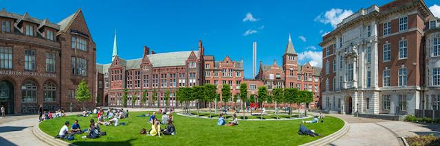 специальности Ливерпульского университета