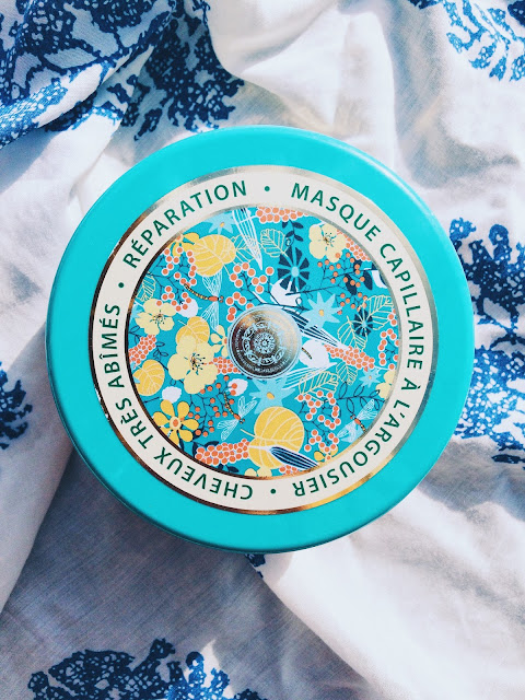 natura siberica masque cheveux a l argousier cheveux cassant soin turquoise packaging
